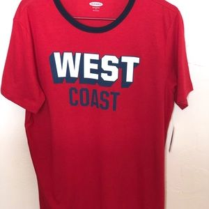 West Coast Old Navy Men's Shirt.